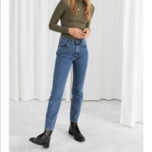 & Other Stories High Rise Slim Fit Jeans